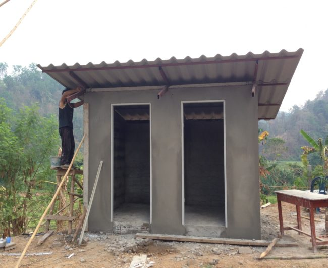 Toilet Construction Drawing : Pcf project dormitory renovation and toilet construction