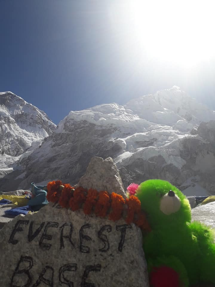 little stig at everest base camp