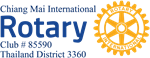 Chiang Mai International Rotary Club logo